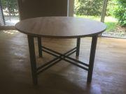 Tisch aus Holz rund IKEA