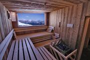 Sauna incl Ruheraum komplett zu