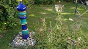 Wasserspiel bzw Solarbrunnen aus handgefertigten