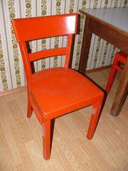 3 Holzstühle aus den 60er