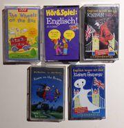 5 Englisch Lernkassetten für Kinder