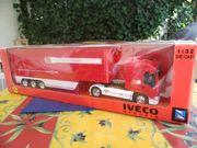 Modelltruck Sonderedition Ferrariteam IVECO Stralis