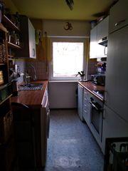 Einbauküche von Nolte mit Kühlschrank
