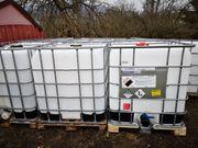 1000 Liter Container Wassertaks