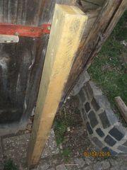 Holzbalken 129cm Lang 9 5
