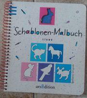 Schablonen Malbuch