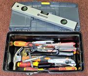 Werkzeug Kiste Konvolut Werkzeugkiste Zange