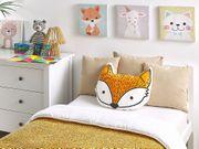Dekokissen orange Fuchsmotiv 50 x