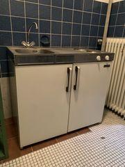 Pantry-Küche 2 Platten Kühlschrank