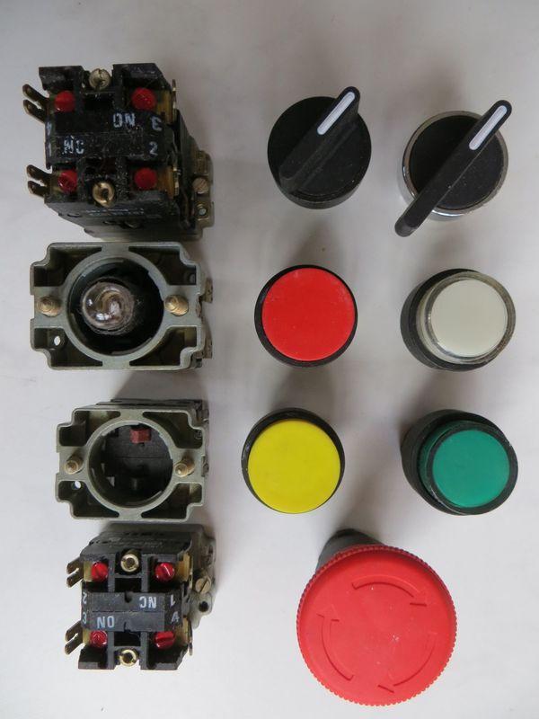 ZB2 Telemecanique Schneider Einbauschalter Elemente