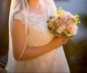 Hochzeitskleid von Kleemeier Farbe Ivory
