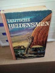 Deutsche Heldensagen antiquarisch
