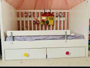 Ikea Babybett Kinderbett Gitterbett