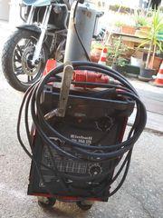 Neuwertiges sehr wenig genutztes Schutzgas