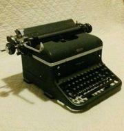 HALDA Schreibmaschine sehr alt mechanisch