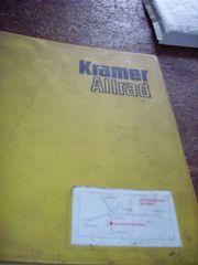 Bedienungsanweisung Ersatzteilliste Kramer Allrad