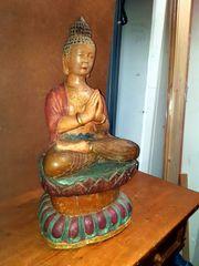 Buddha Statue Figur alt
