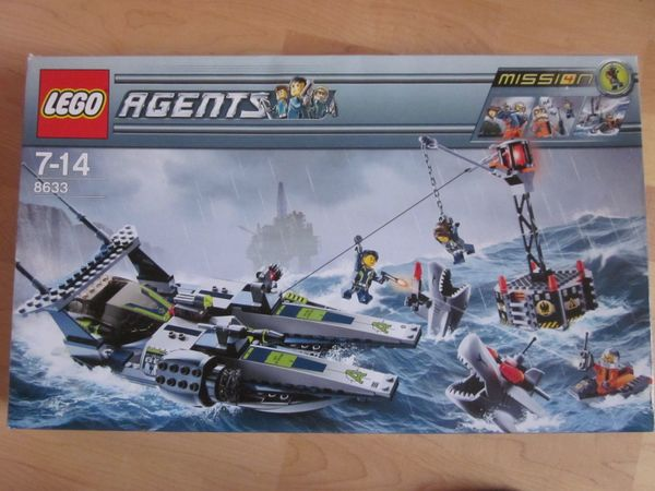 8633 Lego Agents Set Mission