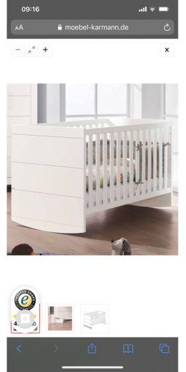 Wiegen, Babybetten, Reisebetten - Paidi Babybett und Erweiterungsset