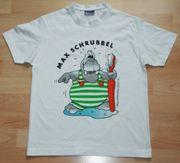 NEU -Weißes T-Shirt - Größe 142 - 152 -