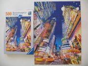 Ravensburger Puzzle Leuchtender Times Square
