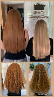 Haarglättung ohne Formaldehyd