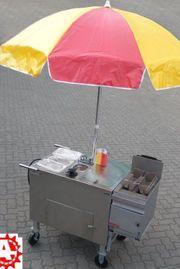 Hot Dog Wagen mobiler Hotdog