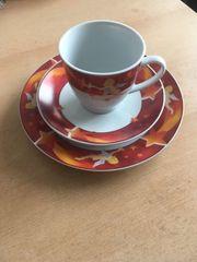 3-tlg-Kaffeegedeck-VAN-WELL Weihnachten