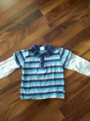 Süßes Poloshirt Langarmshirt Gr 92