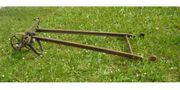 Pflug antik Radpflug