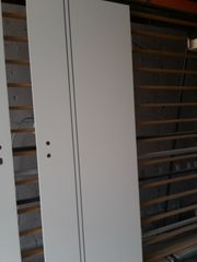 Zimmertürblätter Weiss mit Grauer Ziernut