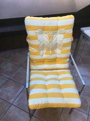 4 Polsterauflage für Gartenstühle