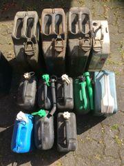 Benzinkanister Kanister Kunststoff und Stahlkanister