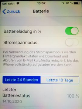 Bild 4 - iPhone 5S 32gb Spacegrau Zustand - Nürnberg Erlenstegen