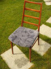 4 Stühle f Esszimmer Vollholz