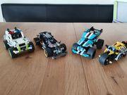 Lego Technic 4 Fahrzeuge