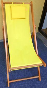 Schicker Liegestuhl Gartenliege Strandstuhl aus