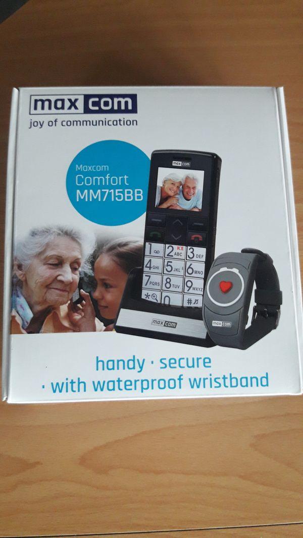 Seniorenhandy mit Notrufarmband