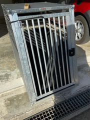 Metall Hundebox von Car Dog