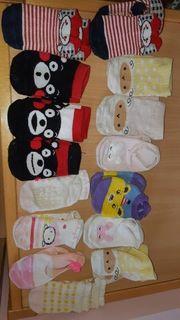 gebrauchte Designer-Kleinkindersocken aus Japan z