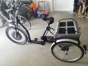 E-Bike Dreirad Marke Glockner