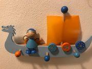 Kinder-Garderobe Wikinger von Selecta