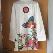 DESIGUAL Kurz Mantel Weiß