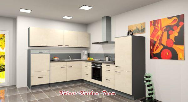 Küche von Nobilia 245 x