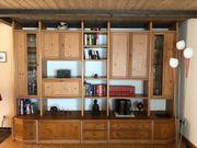 Schrank Wohnzimmerschrank Schrankwand Holz Wohnzimmer
