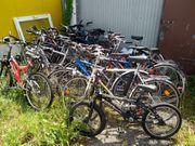 Fahrräder für Bastler 17 Stück