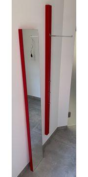 Design-Garderobe Schönbuch Line rot