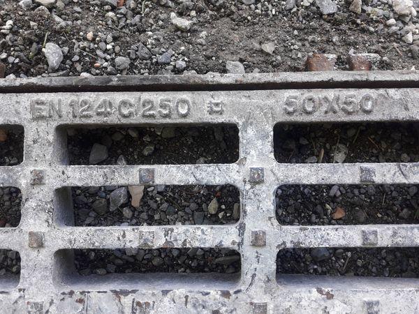 Schachtdeckel Wassereinlauf