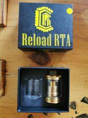 selbstwickler Verdampfer Reload RTA E-Zigarette