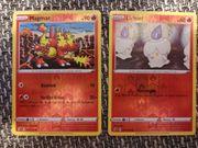 Reverse Holo Feuer Pokemon NEU
